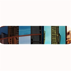 Glass Facade Colorful Architecture Large Bar Mats by Nexatart