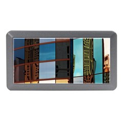 Glass Facade Colorful Architecture Memory Card Reader (mini) by Nexatart