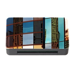 Glass Facade Colorful Architecture Memory Card Reader With Cf