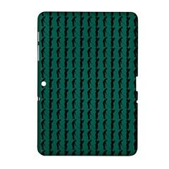 Golf Golfer Background Silhouette Samsung Galaxy Tab 2 (10 1 ) P5100 Hardshell Case  by Nexatart