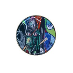 Graffiti Art Urban Design Paint Hat Clip Ball Marker