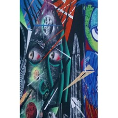Graffiti Art Urban Design Paint 5 5  X 8 5  Notebooks by Nexatart