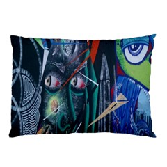 Graffiti Art Urban Design Paint Pillow Case (two Sides)