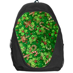 Green Holly Backpack Bag