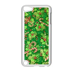 Green Holly Apple Ipod Touch 5 Case (white)