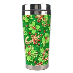 Green Holly Stainless Steel Travel Tumblers