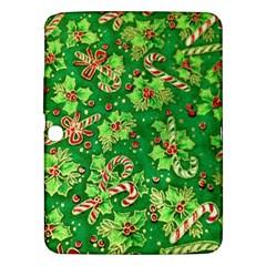 Green Holly Samsung Galaxy Tab 3 (10 1 ) P5200 Hardshell Case