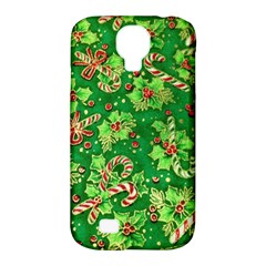 Green Holly Samsung Galaxy S4 Classic Hardshell Case (pc+silicone)