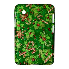 Green Holly Samsung Galaxy Tab 2 (7 ) P3100 Hardshell Case