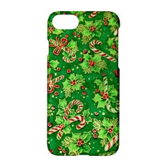 Green Holly Apple Iphone 7 Hardshell Case by Nexatart