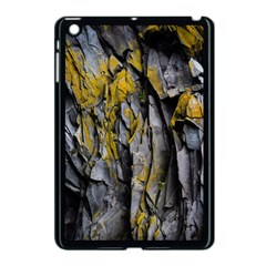 Grey Yellow Stone  Apple Ipad Mini Case (black) by Nexatart