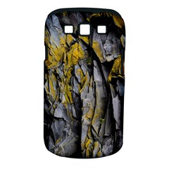 Grey Yellow Stone  Samsung Galaxy S Iii Classic Hardshell Case (pc+silicone) by Nexatart