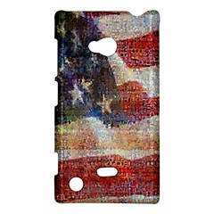 Grunge United State Of Art Flag Nokia Lumia 720