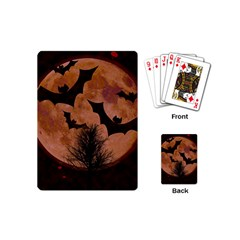 Halloween Card Scrapbook Page Playing Cards (mini)
