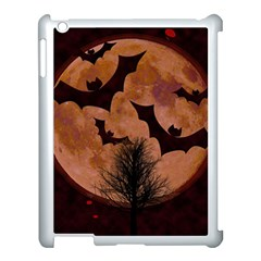 Halloween Card Scrapbook Page Apple Ipad 3/4 Case (white) by Nexatart