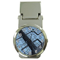 Grid Maths Geometry Design Pattern Money Clip Watches by Nexatart