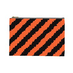 Halloween Background Cosmetic Bag (large)