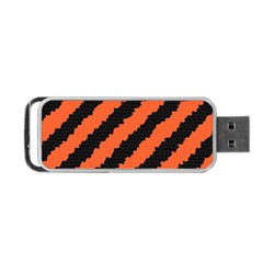 Halloween Background Portable Usb Flash (two Sides) by Nexatart