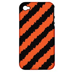 Halloween Background Apple Iphone 4/4s Hardshell Case (pc+silicone)