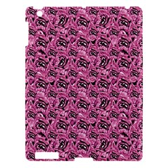Floral Pink Collage Pattern Apple Ipad 3/4 Hardshell Case by dflcprints