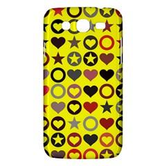 Heart Circle Star Samsung Galaxy Mega 5 8 I9152 Hardshell Case  by Nexatart
