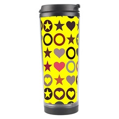 Heart Circle Star Travel Tumbler by Nexatart