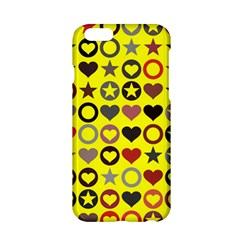 Heart Circle Star Apple Iphone 6/6s Hardshell Case by Nexatart