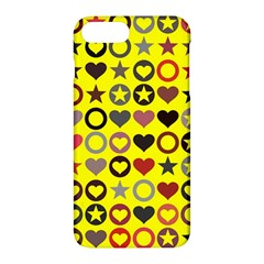 Heart Circle Star Apple Iphone 7 Plus Hardshell Case by Nexatart