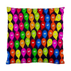 Happy Balloons Standard Cushion Case (two Sides) by Nexatart