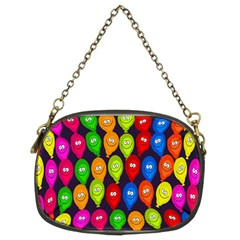 Happy Balloons Chain Purses (two Sides)