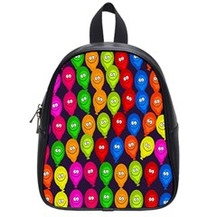 Happy Balloons School Bags (small)  by Nexatart