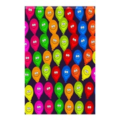 Happy Balloons Shower Curtain 48  X 72  (small)  by Nexatart