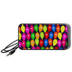 Happy Balloons Portable Speaker (black)