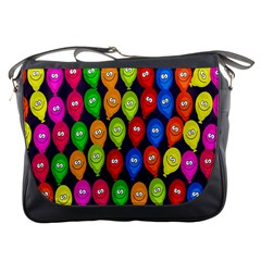 Happy Balloons Messenger Bags