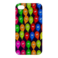 Happy Balloons Apple Iphone 4/4s Premium Hardshell Case by Nexatart