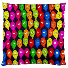 Happy Balloons Standard Flano Cushion Case (one Side) by Nexatart