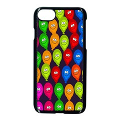 Happy Balloons Apple Iphone 7 Seamless Case (black) by Nexatart