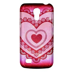 Heart Background Lace Galaxy S4 Mini
