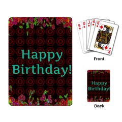 Happy Birthday! Playing Card