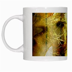 Grunge Texture Retro Design White Mugs by Nexatart