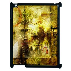 Grunge Texture Retro Design Apple Ipad 2 Case (black)