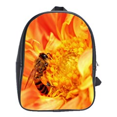 Honey Bee Takes Nectar School Bags(large)