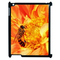 Honey Bee Takes Nectar Apple Ipad 2 Case (black) by Nexatart