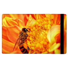 Honey Bee Takes Nectar Apple Ipad 2 Flip Case