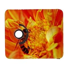 Honey Bee Takes Nectar Galaxy S3 (flip/folio) by Nexatart