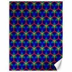 Honeycomb Fractal Art Canvas 12  X 16