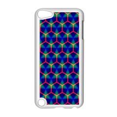 Honeycomb Fractal Art Apple Ipod Touch 5 Case (white)