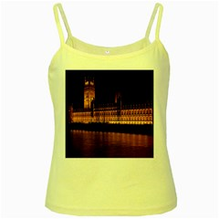 Houses Of Parliament Yellow Spaghetti Tank