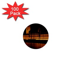 Houses Of Parliament 1  Mini Buttons (100 Pack)  by Nexatart