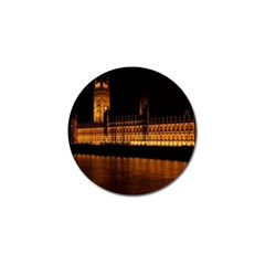 Houses Of Parliament Golf Ball Marker (10 Pack) by Nexatart